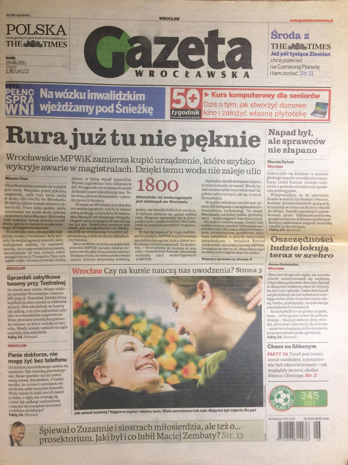 Kurs Uwodzenia Gazeta Wrocławska