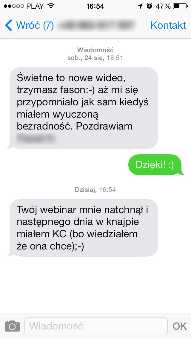 otwieranie wiadomości przykłady randek online