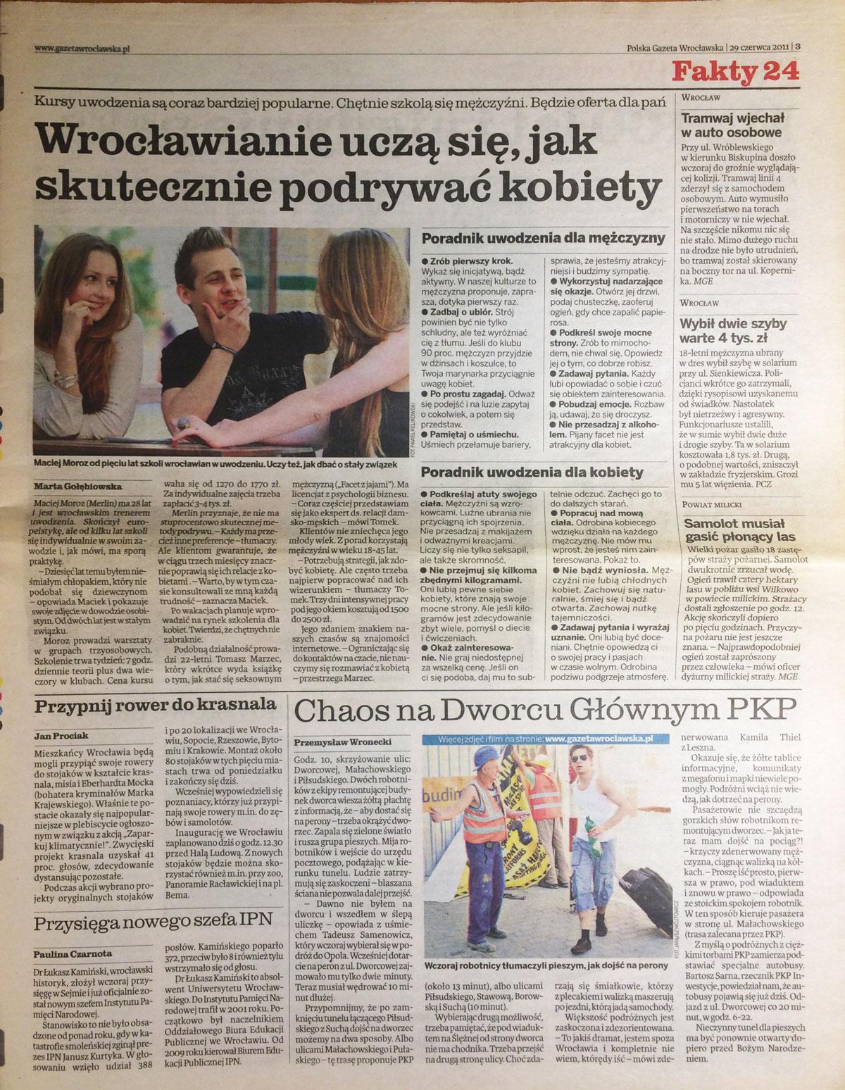 Office 4Kurs Uwodzenia Gazeta Wrocławska 2